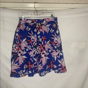 Draper James floral mini skirt